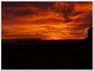 アリゾナ州・モニュメントバレー