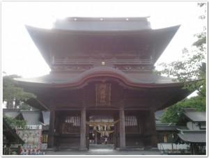 阿蘇神社の入り口
