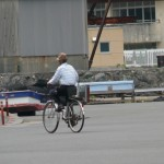 自転車とじいちゃん