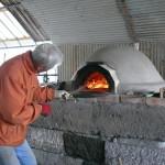 ピザ窯づくり(土窯)
