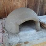 帽子型のピザ窯