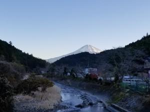 富士山と出逢う