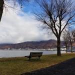Suwa Lake in Nagano